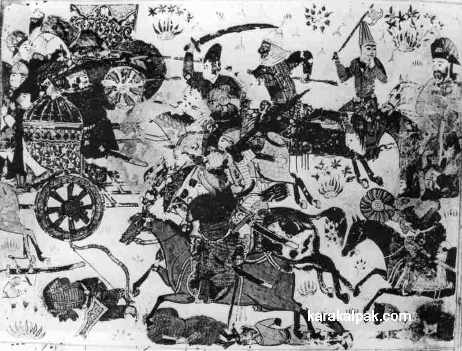 Battle between Noghay and Toqta