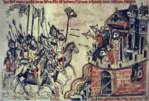 The battle of Liegnitz