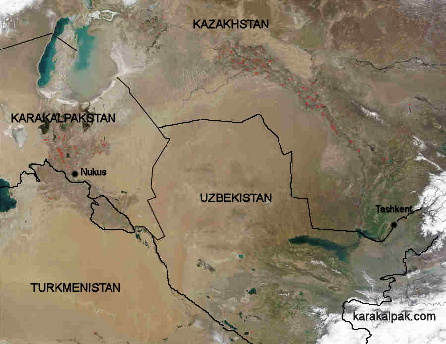 The Geography of Karakalpakstan