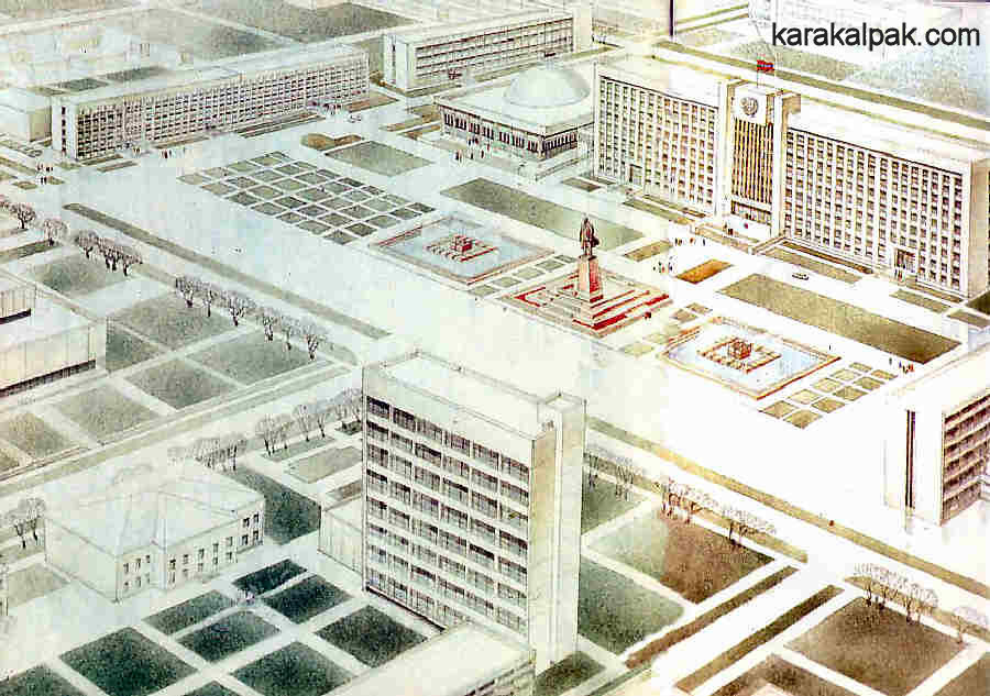 Lenin Square plans