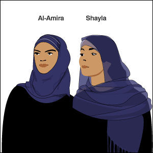 Al-amira and shayla