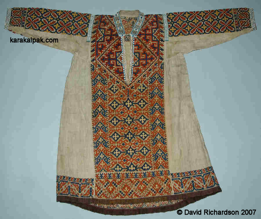 Southern Khanty tunic-shaped dress