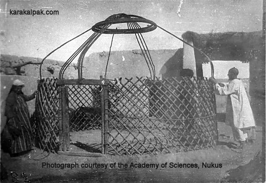 History Of The Karakalpak Yurt
