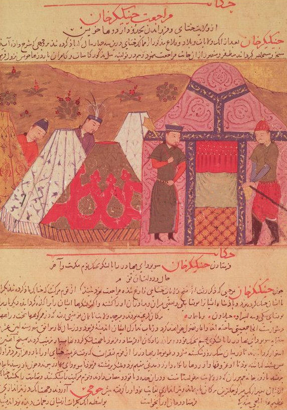 Chinggis Khan's encampment
