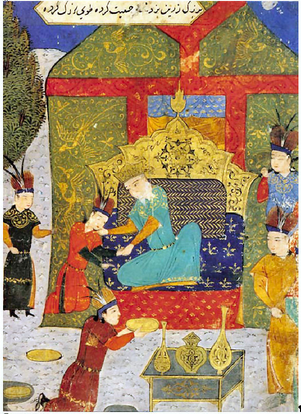 Temujin proclaimed Chinggis Khan in his ger