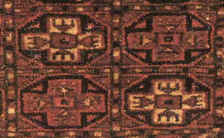 Octagonal motifs from a Tekke mafrach
