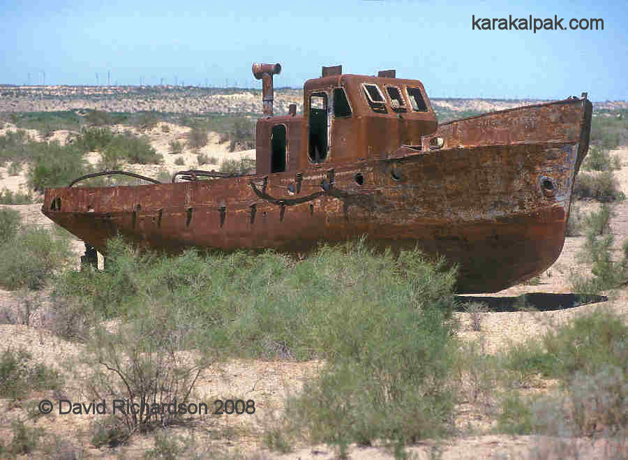 The ship's graveyard at Moynaq