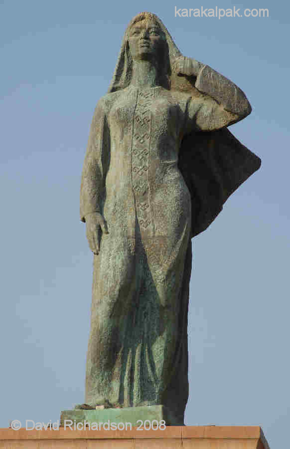 Statue of a Karakalpak Woman